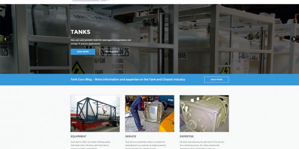 New Tank Service Website